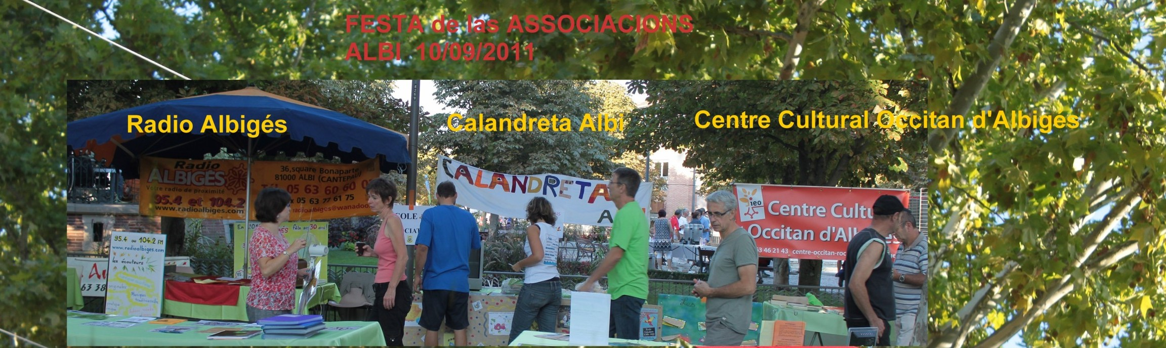 Fête des Associations, Albi, Septembre 2011