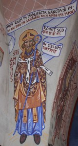 St Victòr. St Amanç, 1° avesque de Rodés