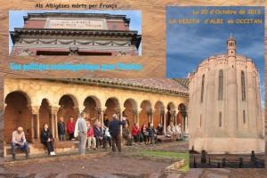 Visita d'Albi lo 20 d'Octobre