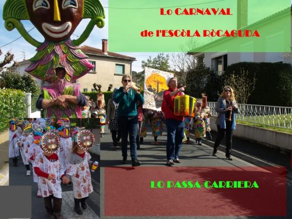 lo carnaval de l'escòla ròcaguda pel site