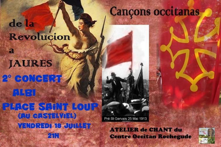afficha cants per Sant Loup !