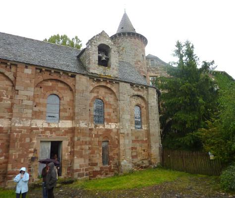 Rauquelòra: La glèisa & lo Castèl