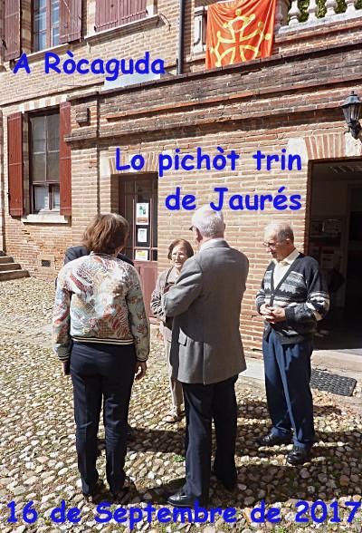 Train de Jaurès à Rochegude 1