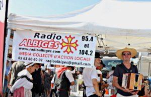 Radio Albigés Marché Saint Juéry à l'Heure Occitane