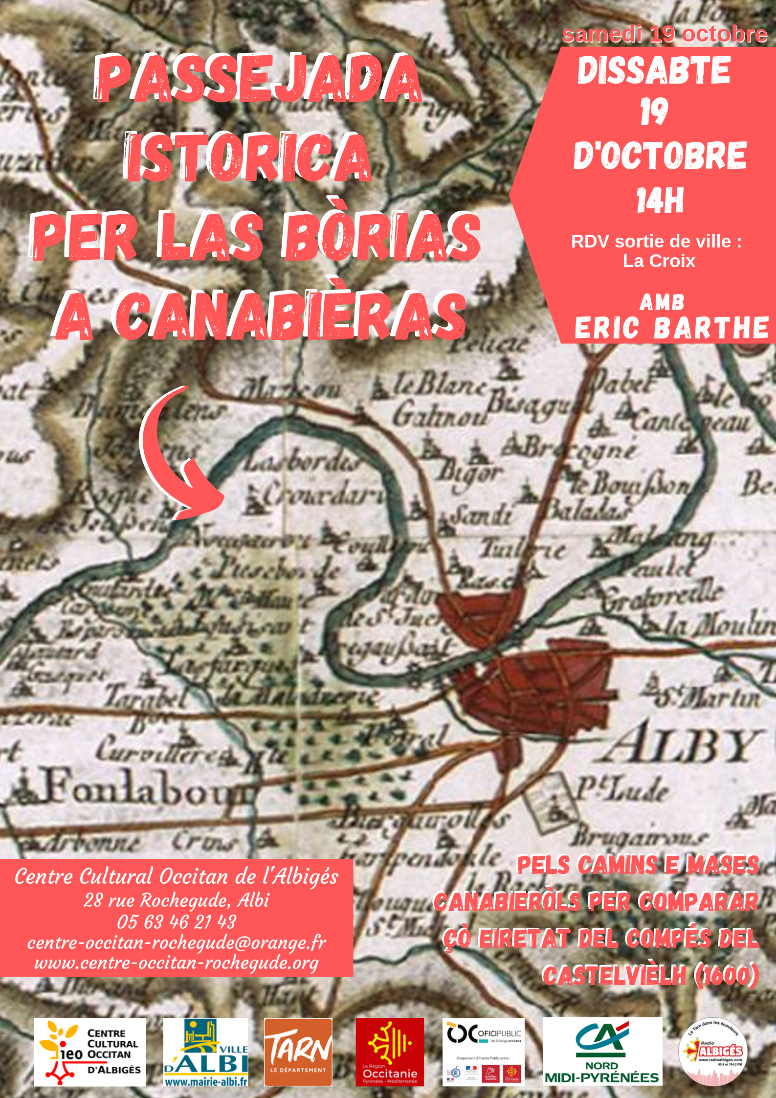 Passejada istorica per las bòrias a Canabièras