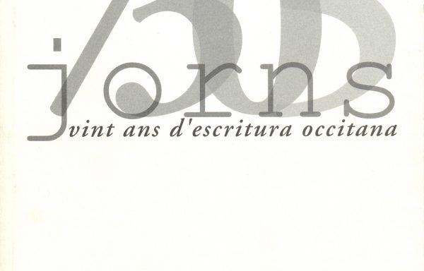 7305 jorns – Vint ans d'escritura occitana
