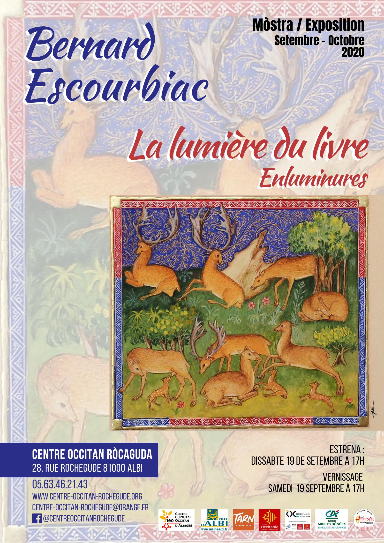 Estrena / Vernissage «La lumière du livre» de Bernard Escourbiac