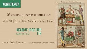 Read more about the article Conferéncia «Mesures, pes e monedas» per Michel Villeneuve